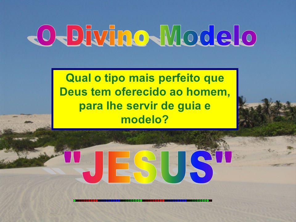 Qual o tipo mais perfeito que Deus tem oferecido ao homem, para lhe servir de guia e modelo?