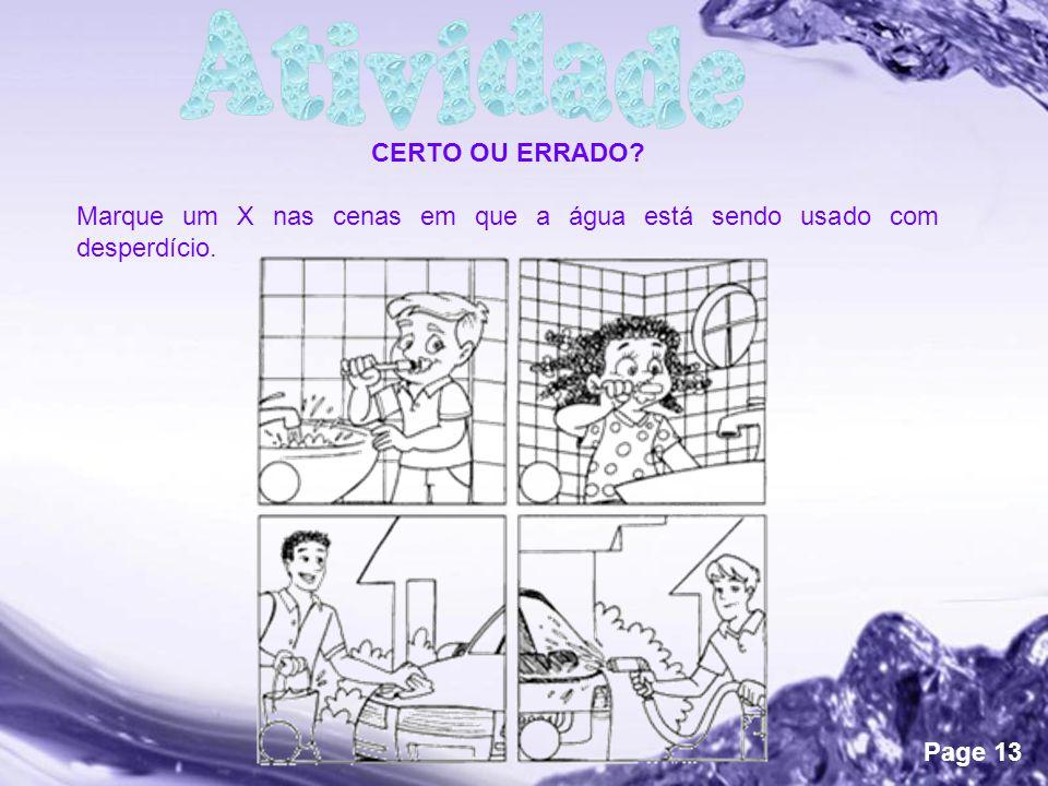 Powerpoint Templates Page 13 CERTO OU ERRADO.