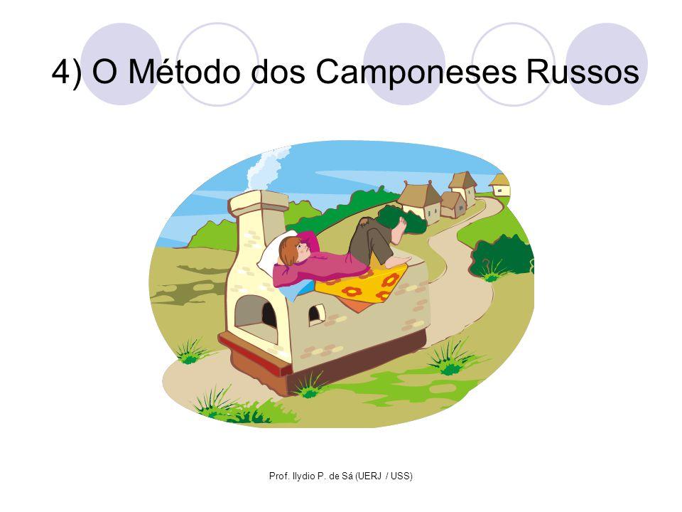 Prof. Ilydio P. de Sá (UERJ / USS) 4) O Método dos Camponeses Russos