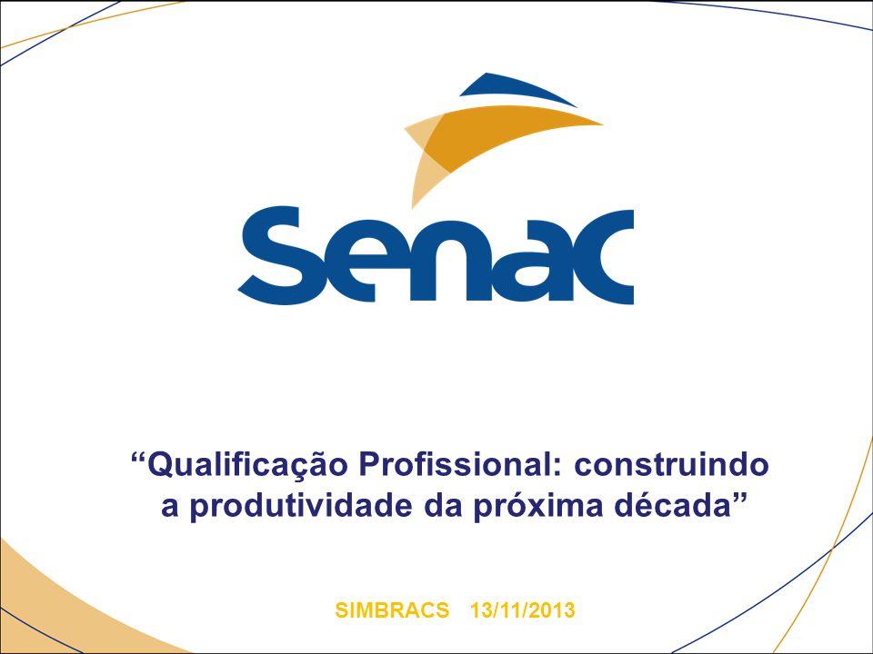 """""""Qualificação Profissional: construindo a produtividade da próxima década"""" SIMBRACS 13/11/2013"""