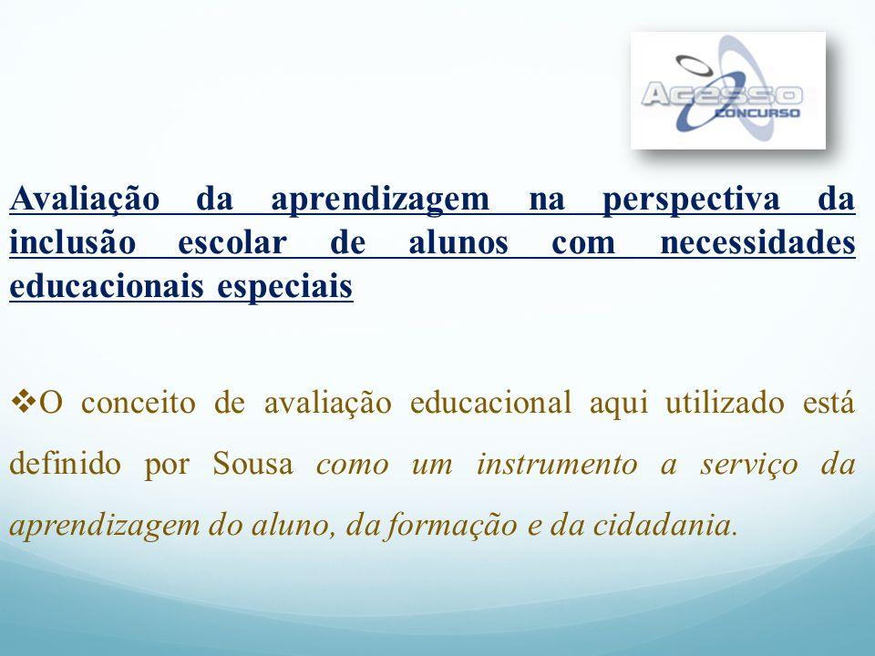 Referencial sobre Avaliação da Aprendizagem de Alunos com Necessidades Educacionais Especiais Educação Especial