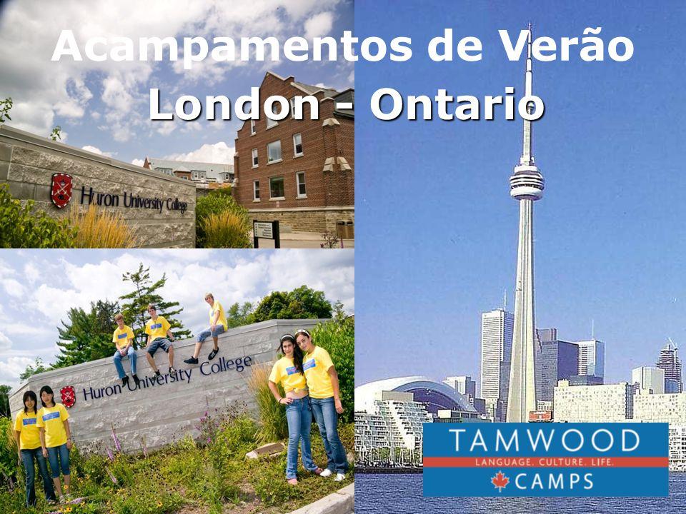 London-Ontario está localizada em 1 hora e 40 minutos ao sul do Aeroporto de Toronto, perto de Toronto, das Catarátas do Niagara e dos Grandes Lagos.
