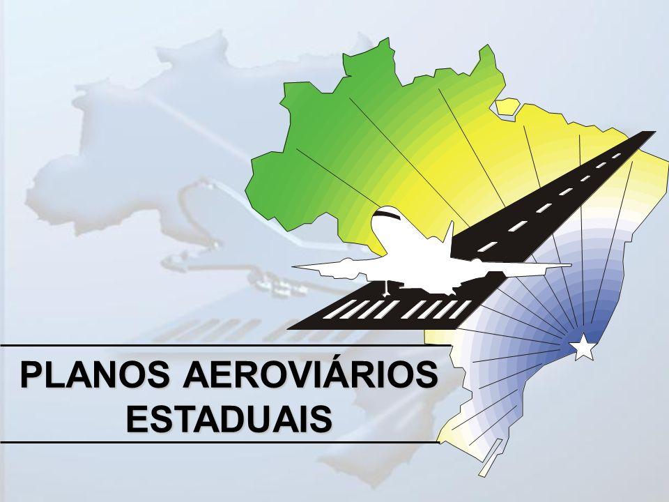 DEFINIÇÃO DA REDE DE AEROPORTOS Campo de Estudos Análise da Infra-Estrutura Aeroportuária Análise do Potencial do Sítio Aeroportuário Análise Sócio- Econômica e Previsão de Demanda por Transporte Aéreo