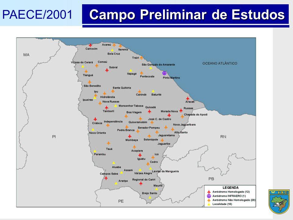 PAECE/2001 Campo Preliminar de Estudos