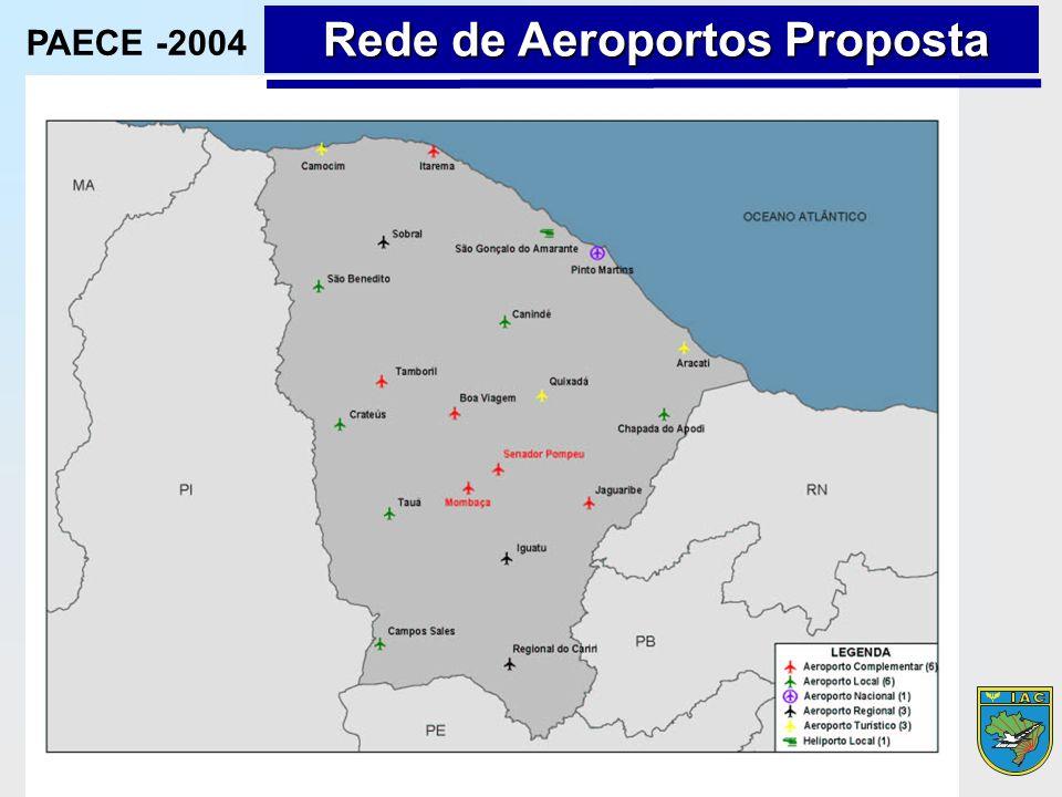 Rede de Aeroportos Proposta PAECE -2004