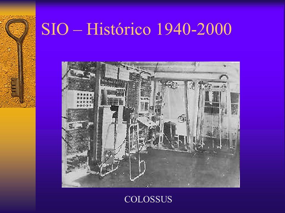 SIO – Histórico 1940-2000 COLOSSUS