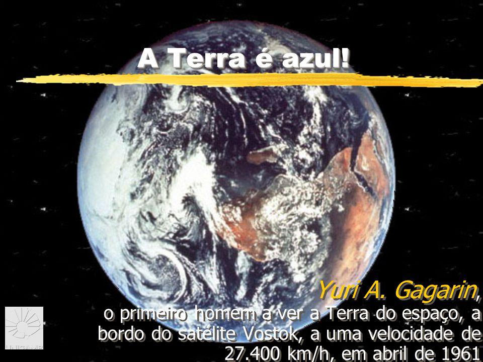 A Terra é azul.Yuri A.