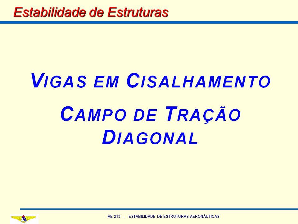 AE 213 - ESTABILIDADE DE ESTRUTURAS AERONÁUTICAS Estabilidade de Estruturas