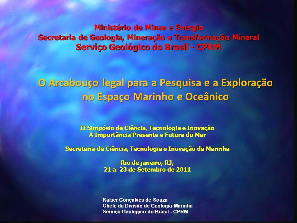 II Simpósio de Ciência, Tecnologia e Inovação A Importância Presente e Futura do Mar Secretaria de Ciência, Tecnologia e Inovação da Marinha Rio de ja