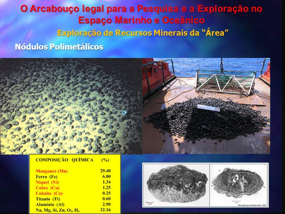 """Nódulos Polimetálicos Exploração de Recursos Minerais da """"Área"""" O Arcabouço legal para a Pesquisa e a Exploração no Espaço Marinho e Oceânico"""