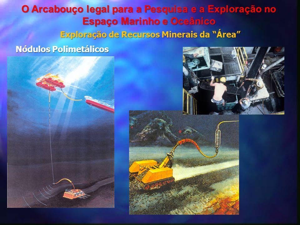 """Exploração de Recursos Minerais da """"Área"""" O Arcabouço legal para a Pesquisa e a Exploração no Espaço Marinho e Oceânico Nódulos Polimetálicos"""