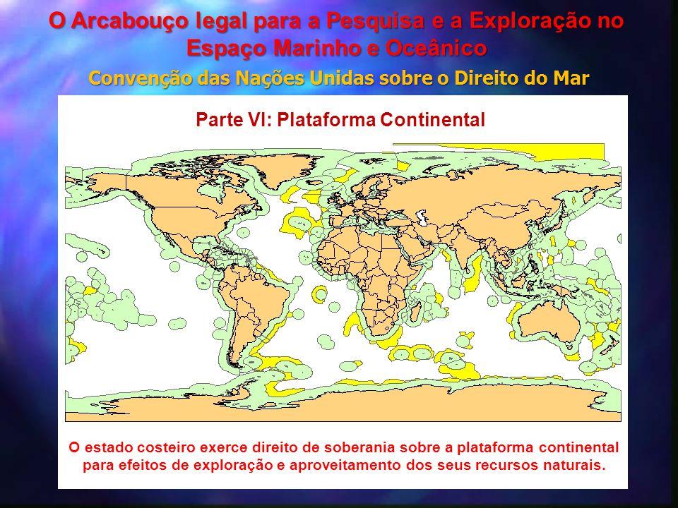 O estado costeiro exerce direito de soberania sobre a plataforma continental para efeitos de exploração e aproveitamento dos seus recursos naturais. P