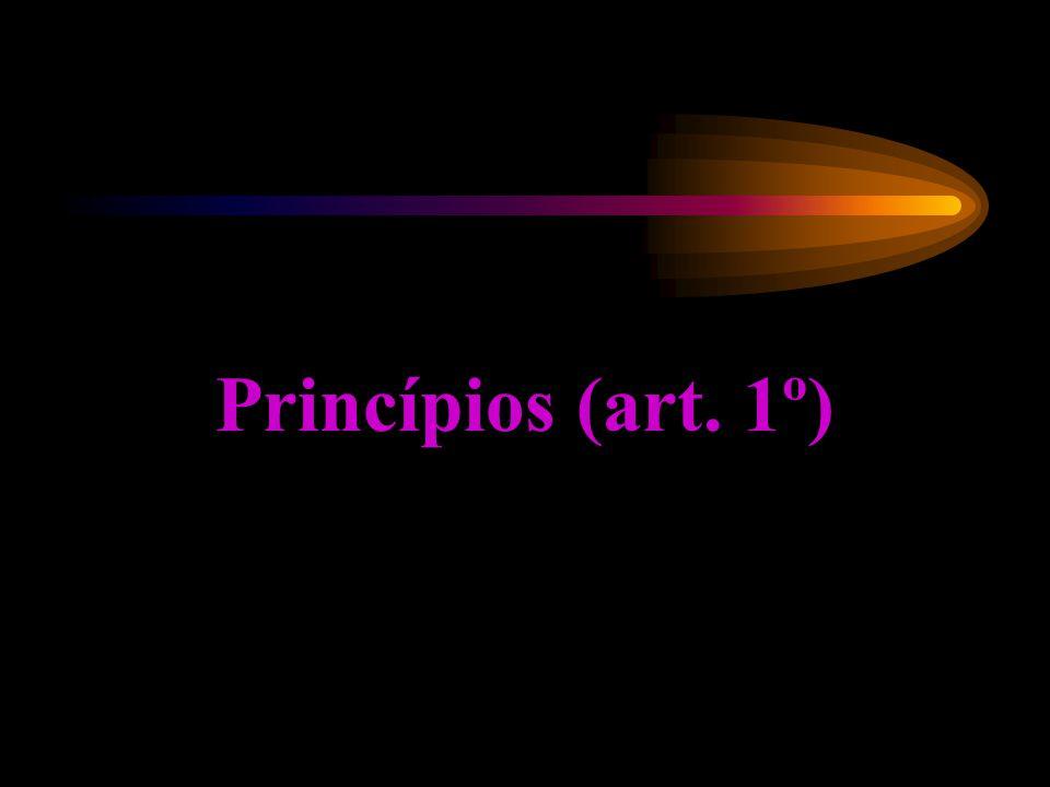 Princípios (art. 1º)