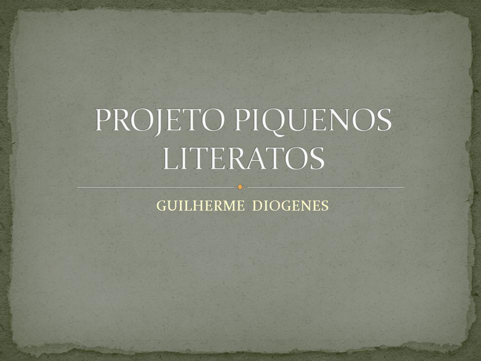 O projeto começou quando a professora falou qual era o meu grupo o meu grupo era o Guilherme Moura, Guido e eu.