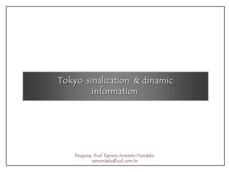 Tokyo Traffic Pesquisa: Prof. Ramon Armesto Mondelo ramondelo@uol.com.br