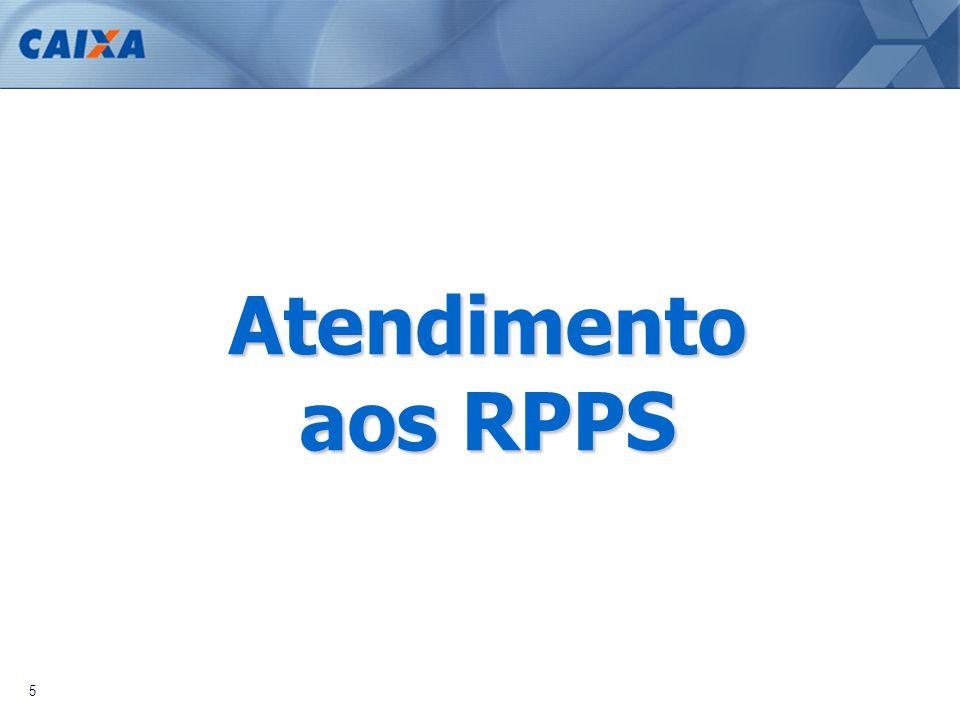 5 Atendimento aos RPPS