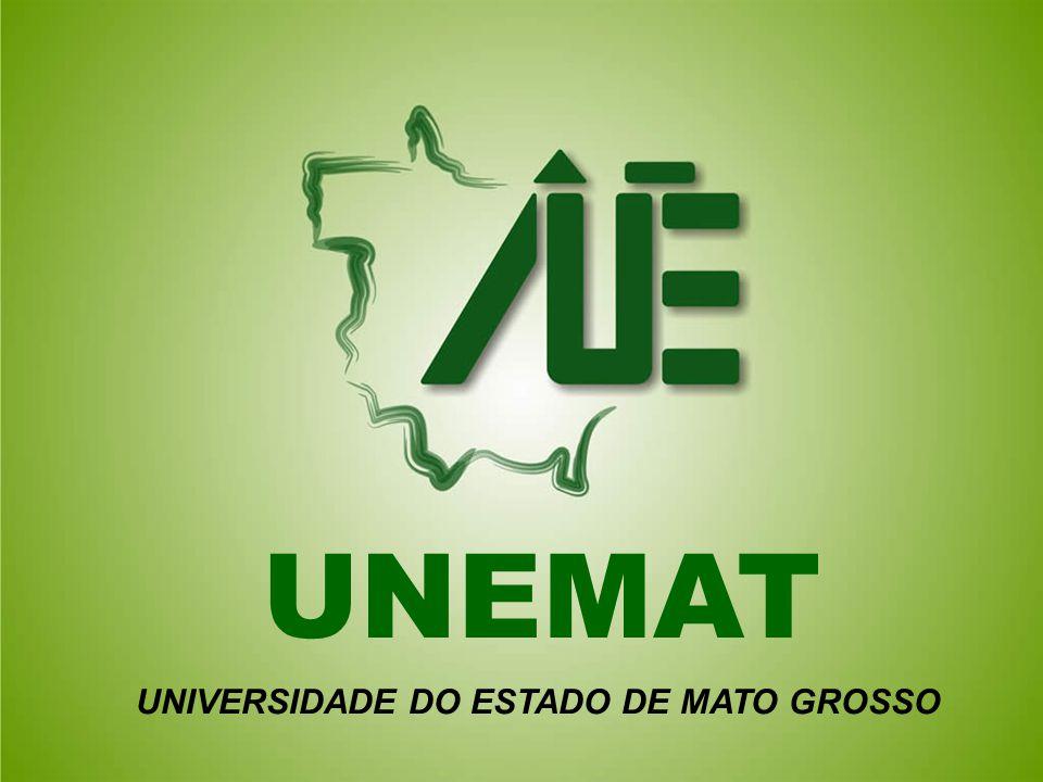UNEMAT UNIVERSIDADE DO ESTADO DE MATO GROSSO