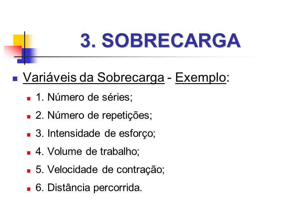 3.SOBRECARGA  Variáveis da Sobrecarga - Exemplo:  1.