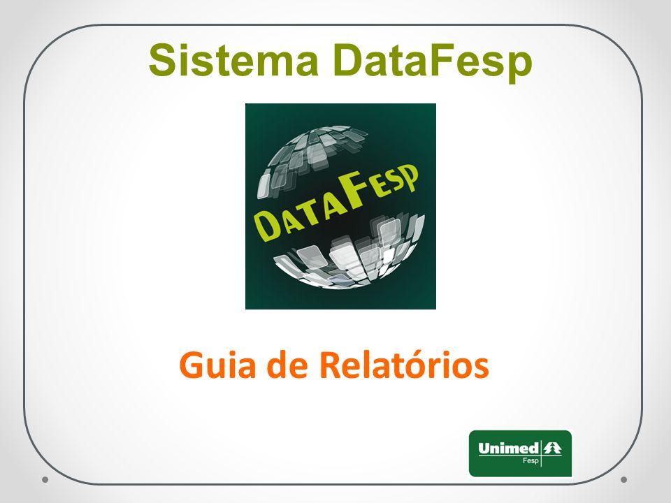 Sistema DataFesp Guia de Relatórios