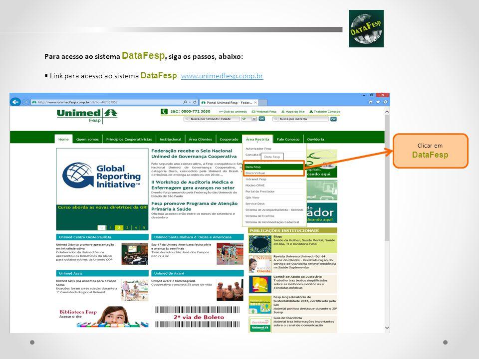 2) Como gerar relatório dos representantes das Diretorias Executivas para Todas Unimeds do Estado de São Paulo.