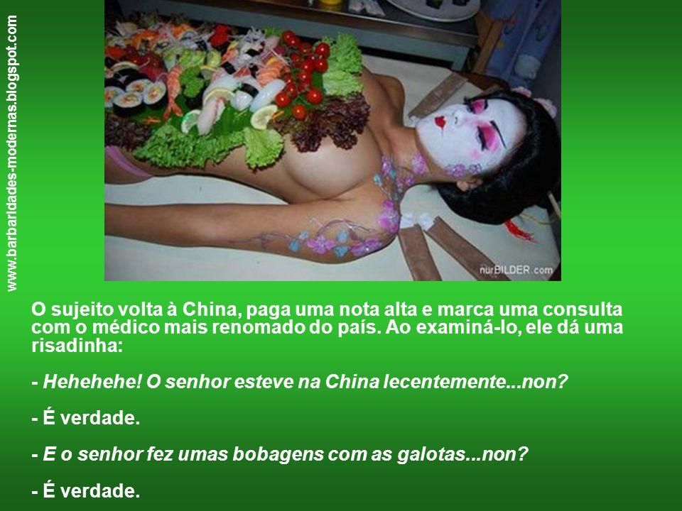 www.barbaridades-modernas.blogspot.com - E o senhor foi ver médico basileilo....non.
