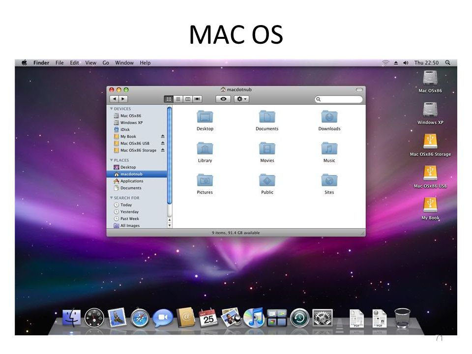 MAC OS 71