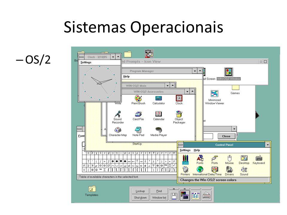 Sistemas Operacionais – OS/2