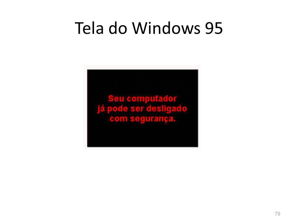 Tela do Windows 95 79