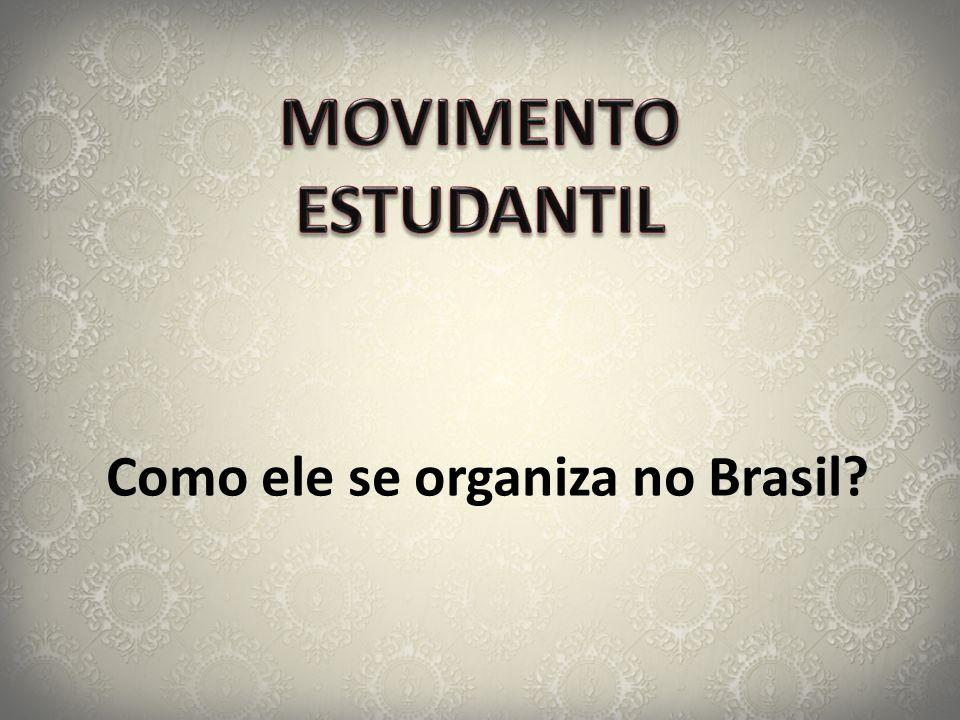 Como ele se organiza no Brasil?
