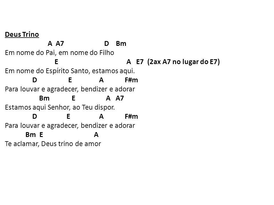 Canto Final D A A7 D A formiguinha corta a folha e carrega, quando uma deixa a outra leva.