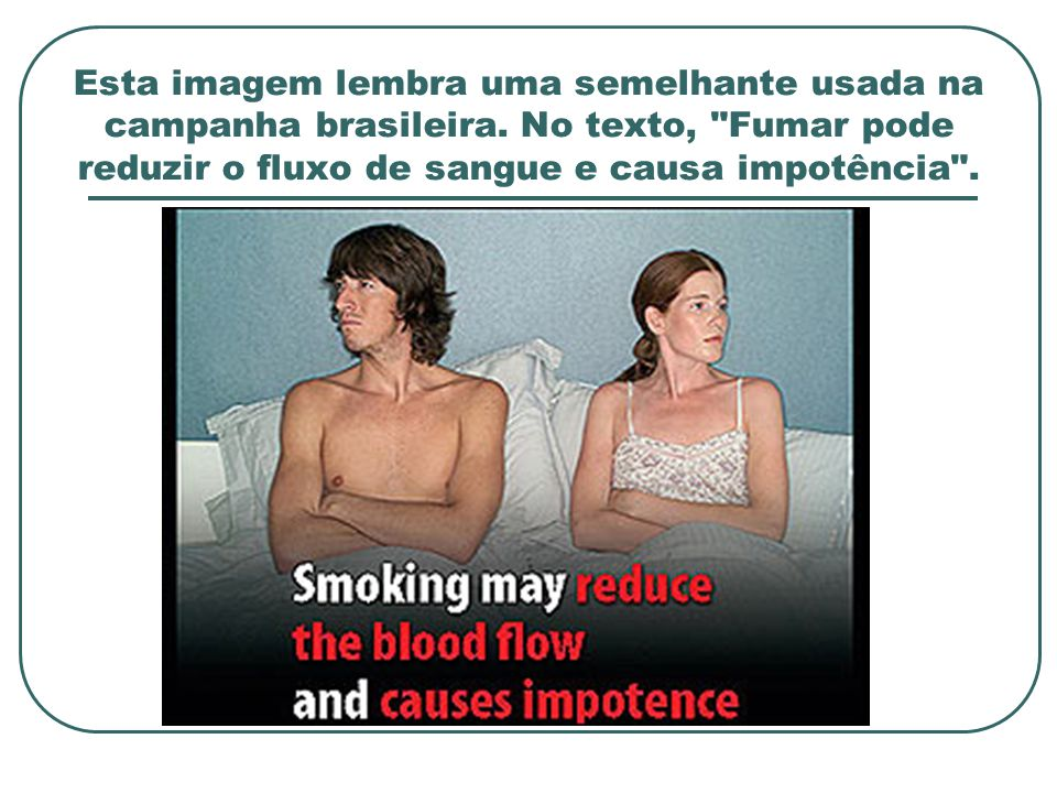 Esta imagem lembra uma semelhante usada na campanha brasileira. No texto,