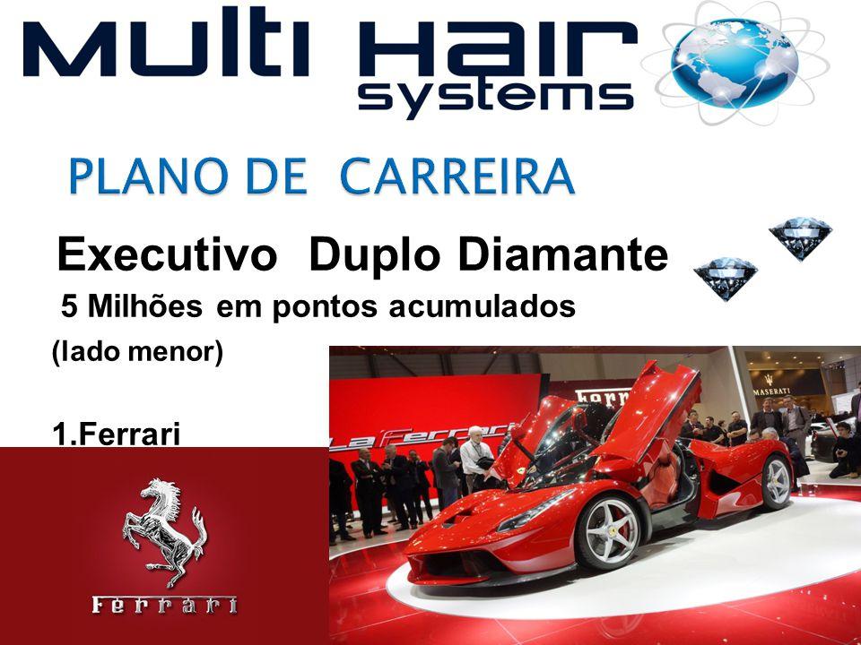 Executivo Duplo Diamante 5 Milhões em pontos acumulados (lado menor) 1.Ferrari