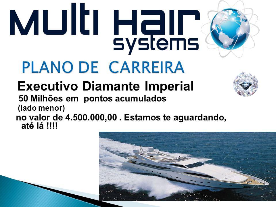 Executivo Diamante Imperial 50 Milhões em pontos acumulados (lado menor) no valor de 4.500.000,00. Estamos te aguardando, até lá !!!!