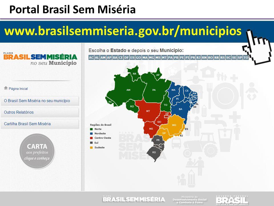 www.brasilsemmiseria.gov.br/municipios Portal Brasil Sem Miséria