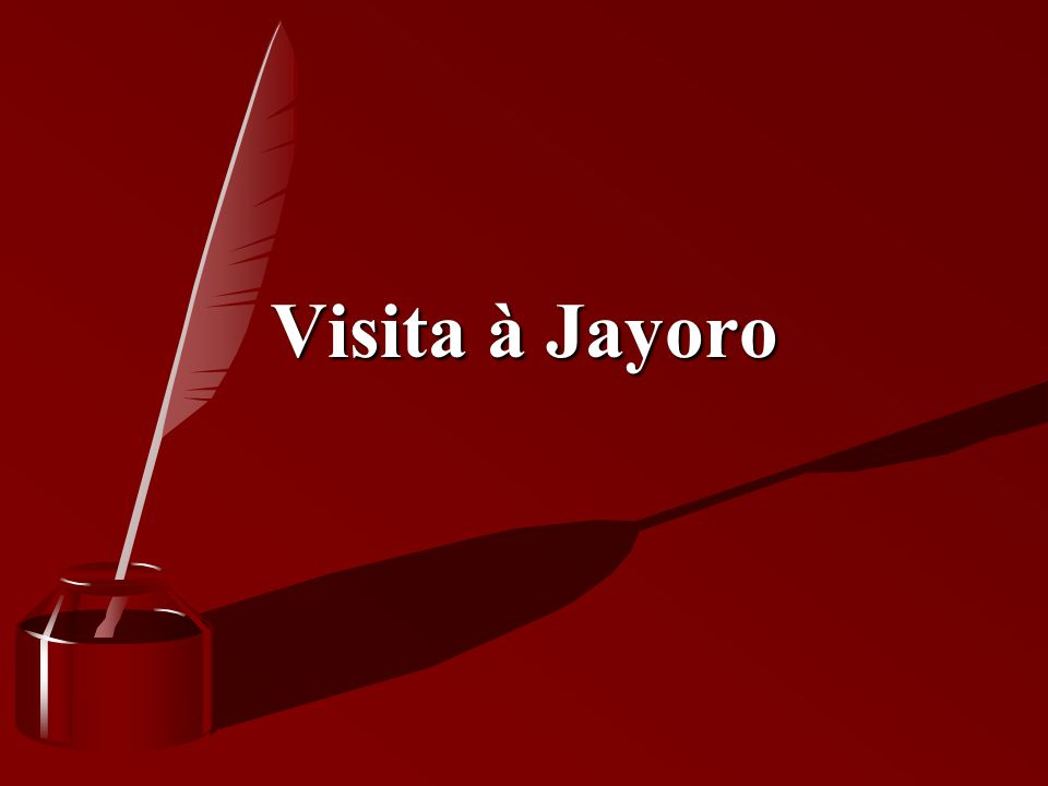 Visita à Jayoro