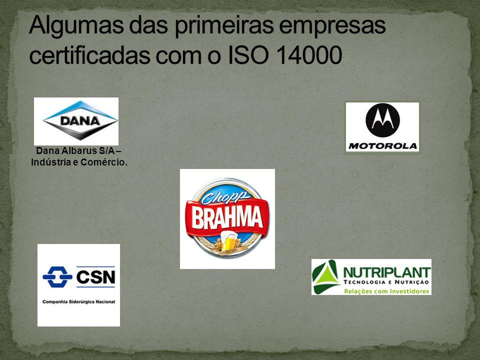 Dana Albarus S/A – Indústria e Comércio.