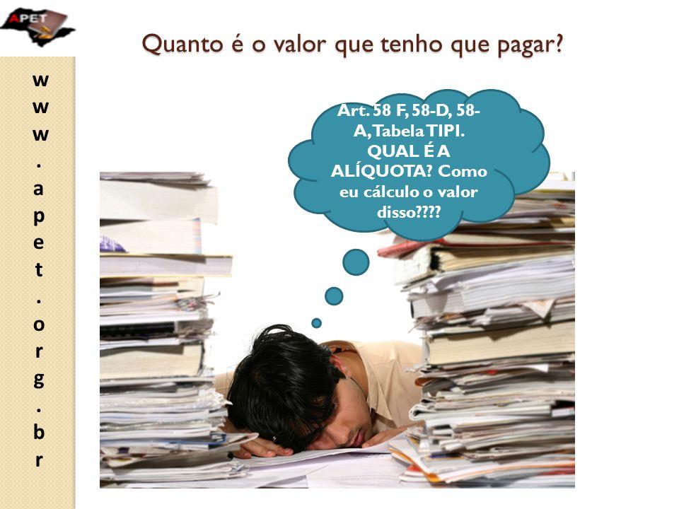 www.apet.org.brwww.apet.org.br Consulta ineficaz - continuação VI.