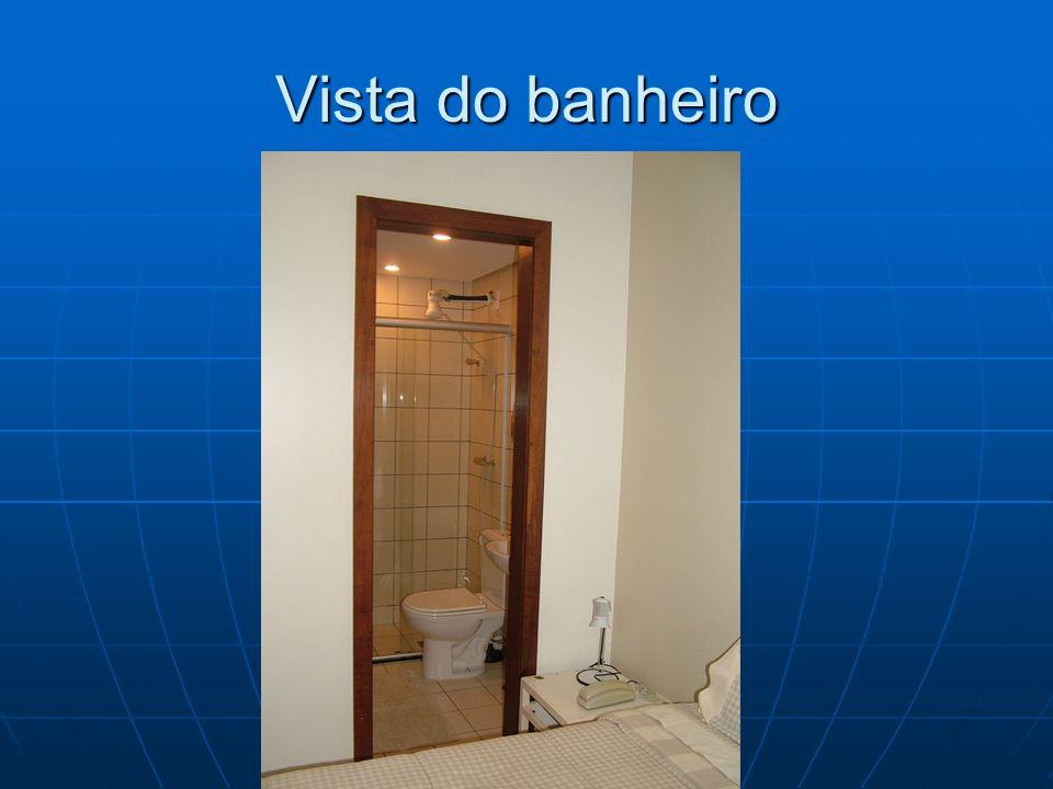 Banheiro com blindex