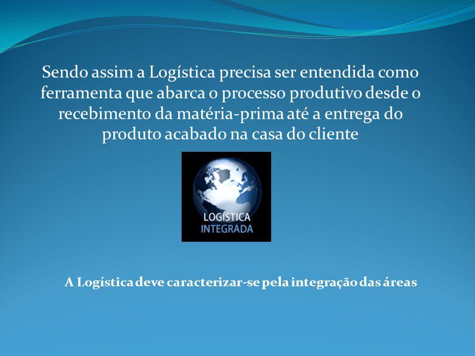 A preocupação primordial da Logística deve ser o controle de estoque Ter ou não ter Estoque.