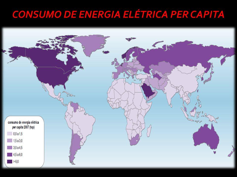 CONSUMO DE ENERGIA ELÉTRICA PER CAPITA