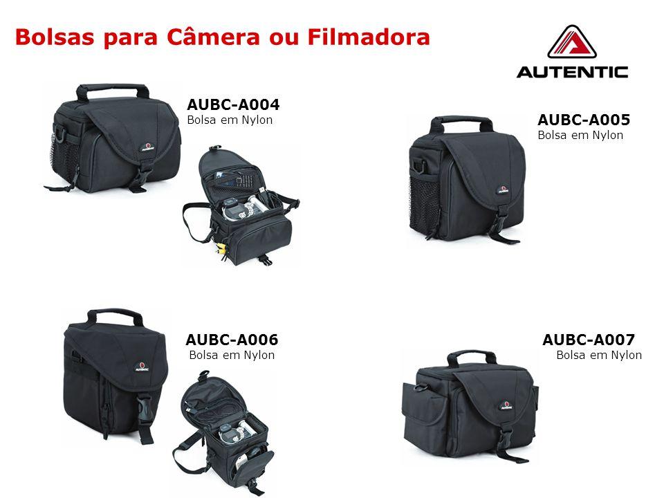 Bolsas para Câmera ou Filmadora AUBC-A005 Bolsa em Nylon AUBC-A007 Bolsa em Nylon AUBC-A006 Bolsa em Nylon AUBC-A004 Bolsa em Nylon