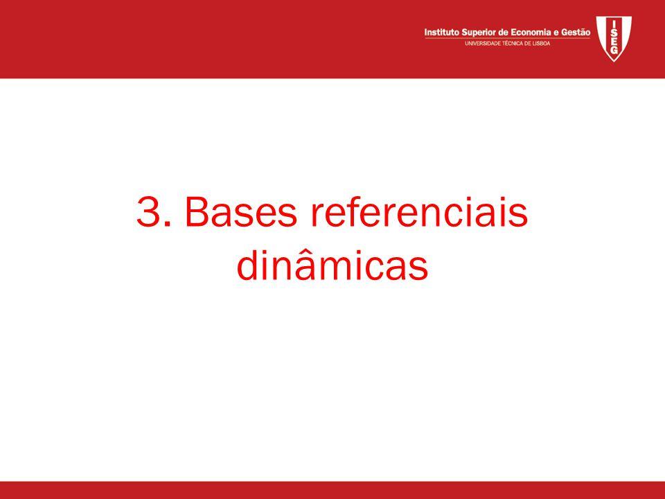 3. Bases referenciais dinâmicas