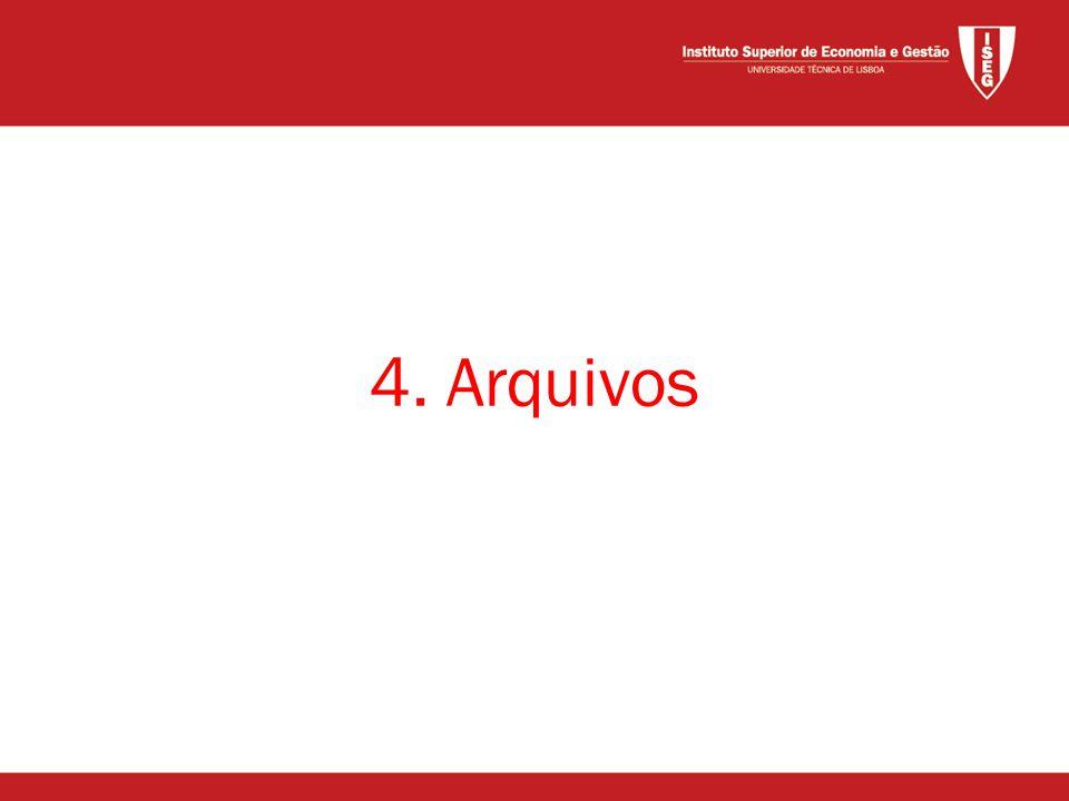 4. Arquivos