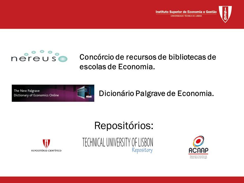 Dicionário Palgrave de Economia.