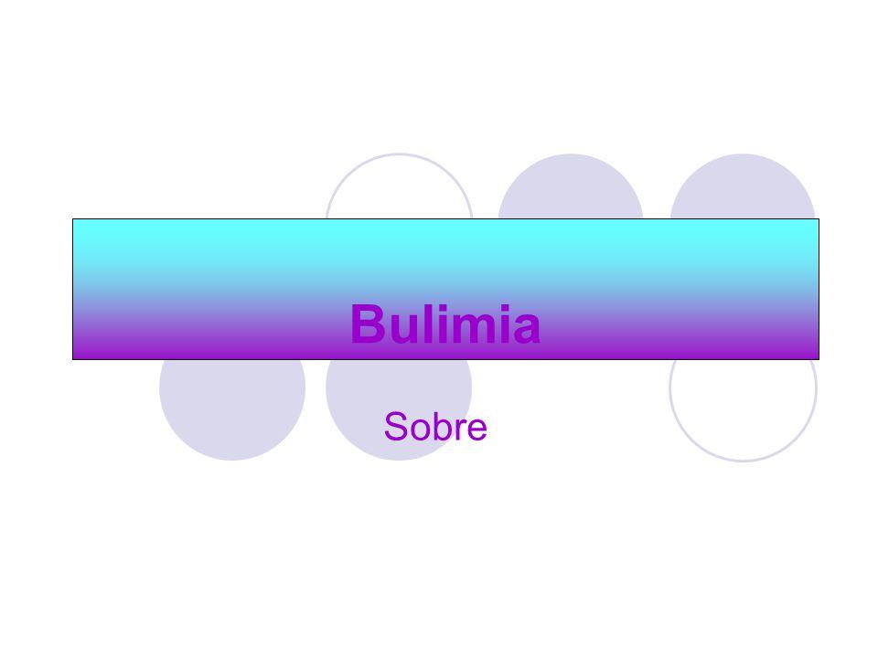 Bulimia Sobre