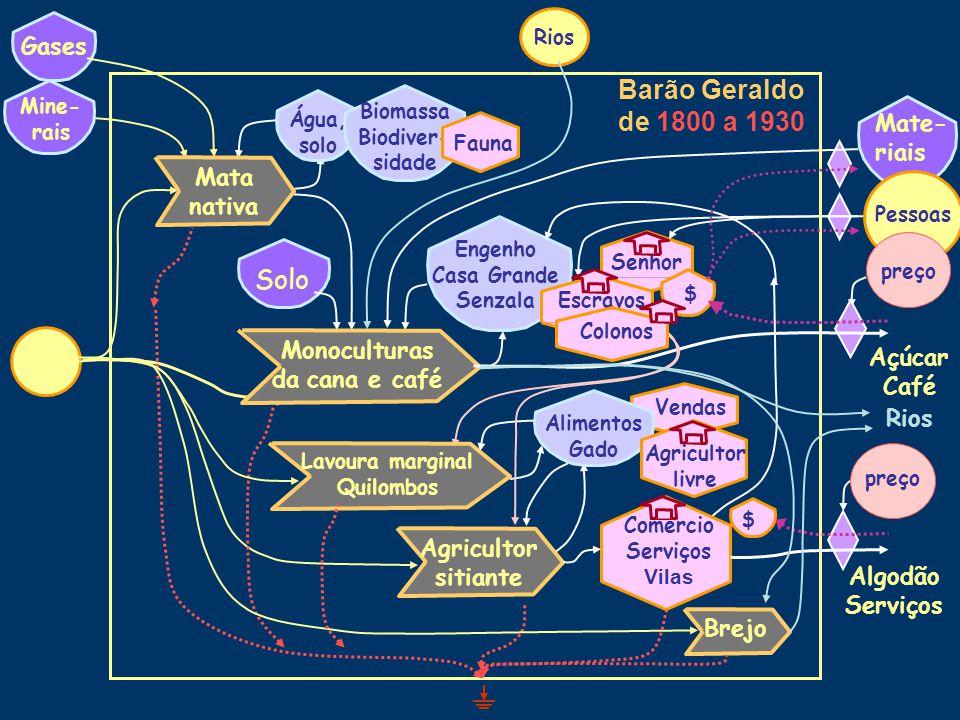 De 1800 a 1930: Café, imigração, industrialização incipiente