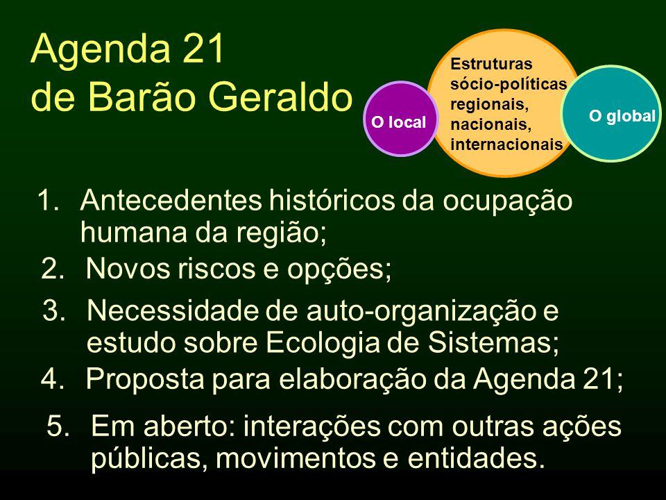 Cuida Barão Reunião para discutir: •O progresso do Plano Diretor; •Críticas e novos riscos; •Necessidade de atualização; •Vínculo com a Agenda 21; •Atuação dos movimentos sociais; •Interações com outras Entidades.