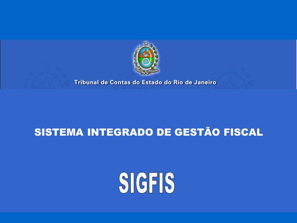 SISTEMA INTEGRADO DE GESTÃO FISCAL