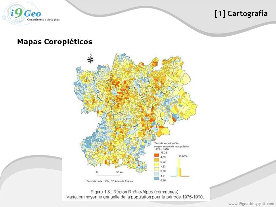 [1] Cartografia Mapas Coropléticos