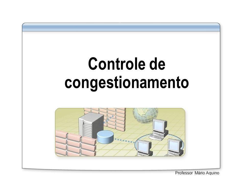 Controle de congestionamento Professor Mário Aquino